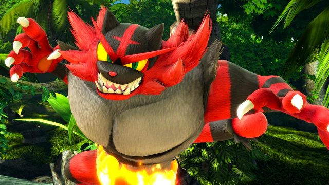 smash ultimate incineroar