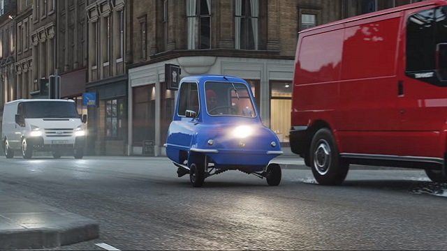 Forza Horizon 4 dance emotes removed. Heres a Peel P50 though.