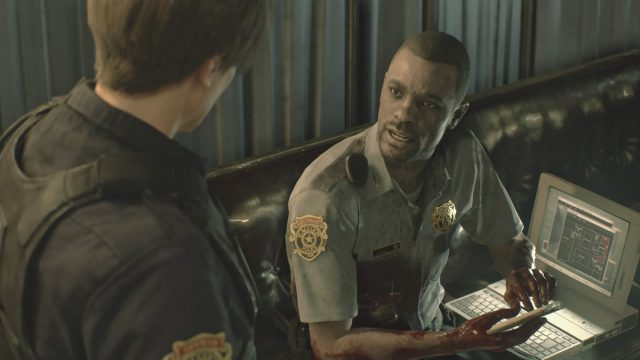 Resident Evil 2 Remake save Marvin