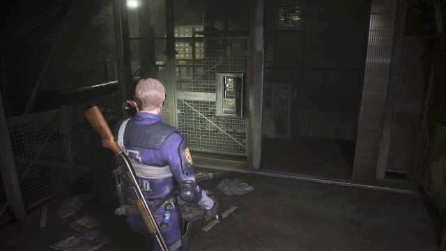 Resident Evil 2 Supplies Storage Room puzzle 3