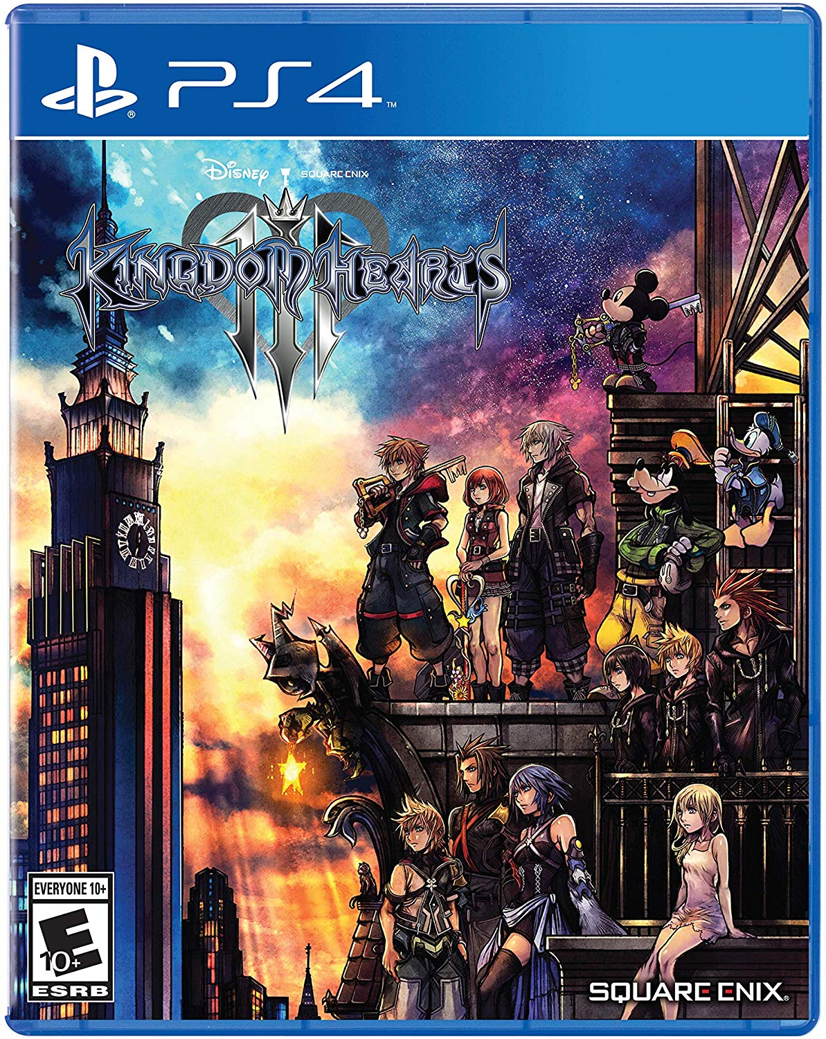 Box art - Kingdom Hearts 3