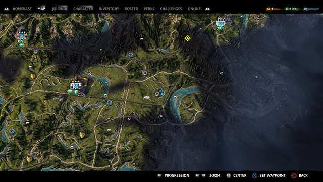 Far Cry New Dawn Music Player 2 map