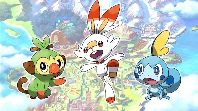 Legendaries and armored Pokemon, Switch RPGs |