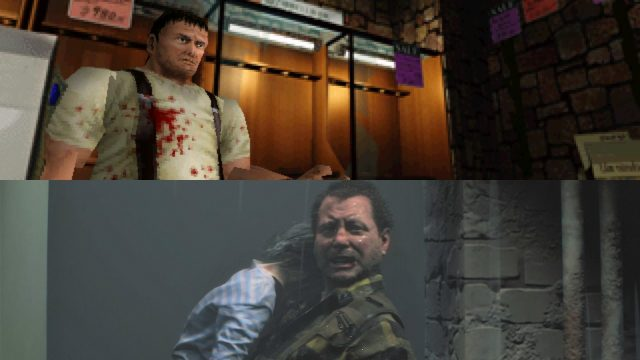 Resident Evil 2 Robert Kendo Original vs Remake