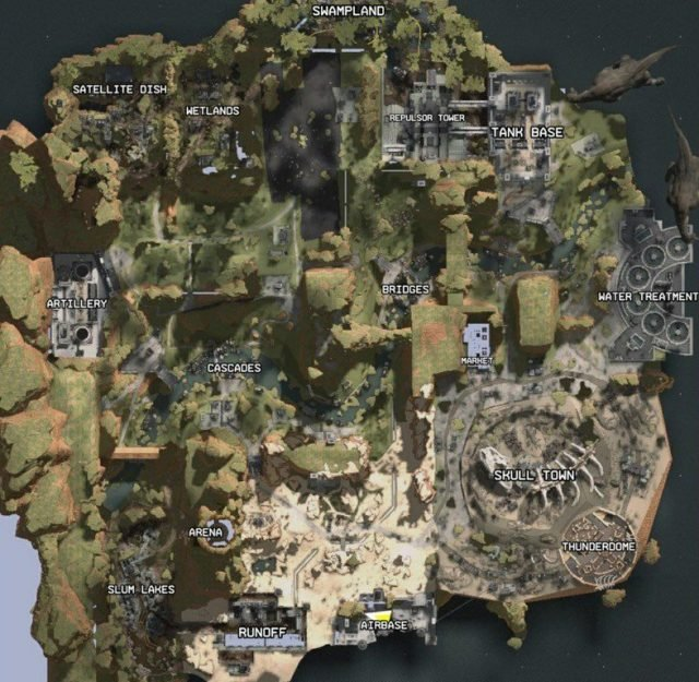 Titanfall Apex Legends map