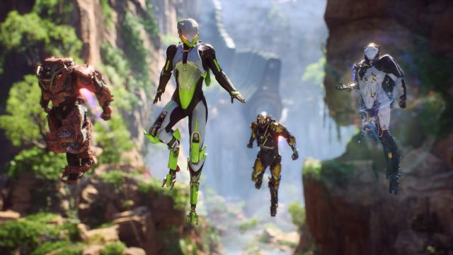 Anthem Loading Screens