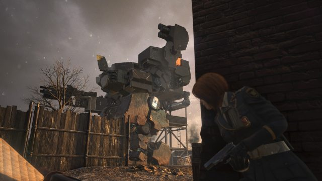 Left Alive review Wanzer from the ground