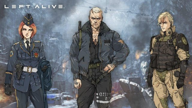 Left Alive review cast