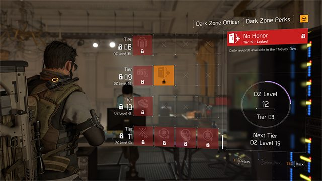 The Division 2 No Honor Dark Zone Perk