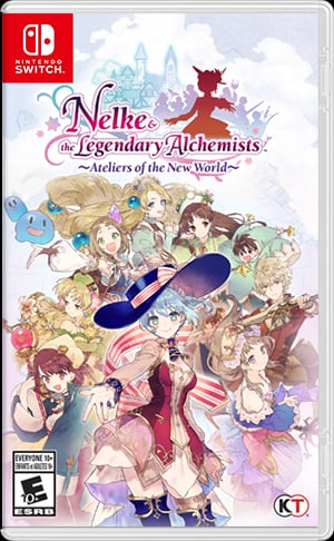 Box art - Nelke and the Legendary Alchemists: Ateliers of the New World
