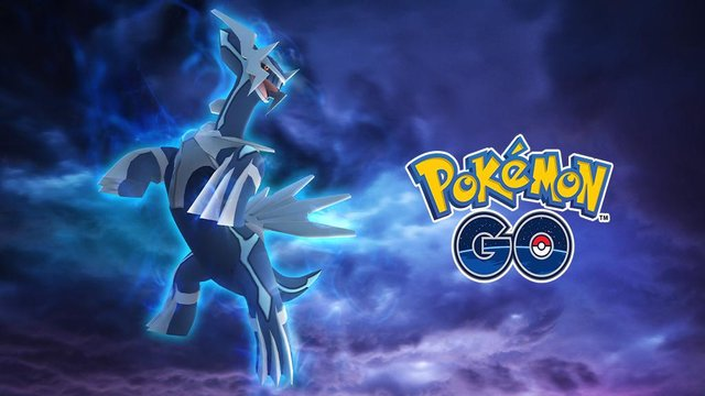 Pokemon Go Dialga Raid Battle