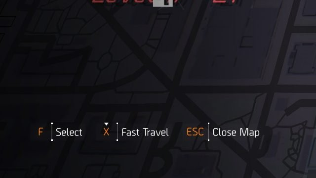 The Division 2 Fast Travel