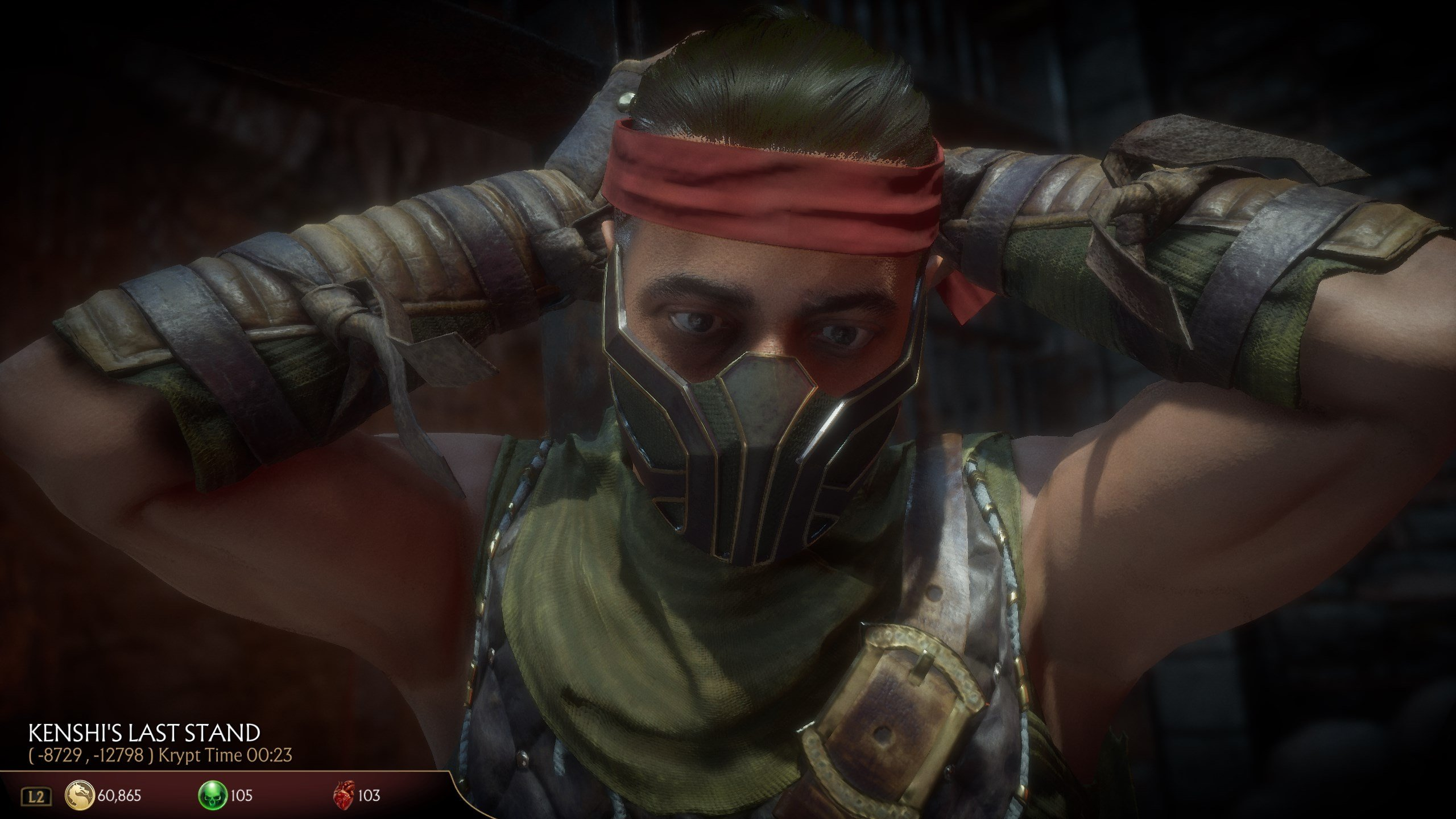 How to get Kenshi's Blindfold in MK11