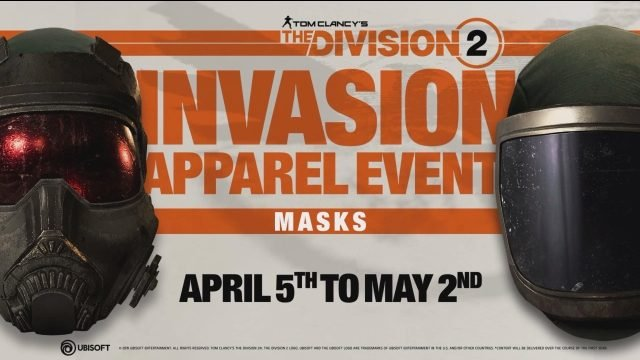 The Division 2 Apparel Event