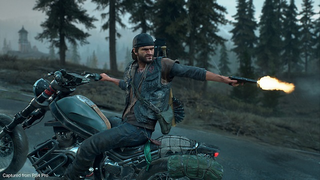 Days Gone file size and day one patch