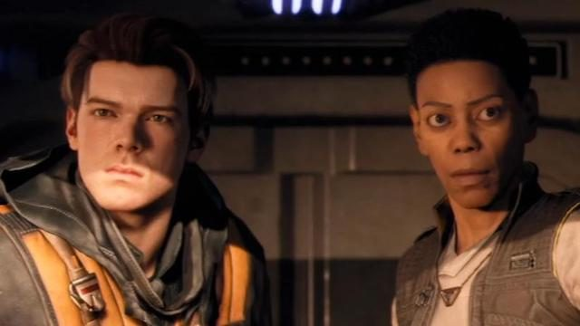 Star Wars Jedi Fallen Order Characters cal and cere