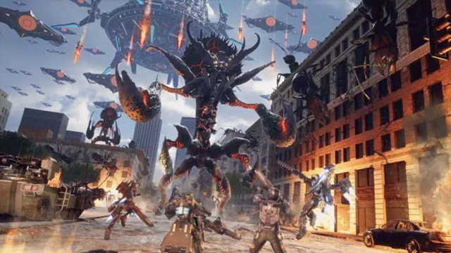 earth defense force iron rain release date