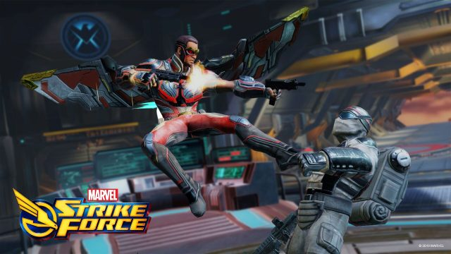 falcon marvel strike force