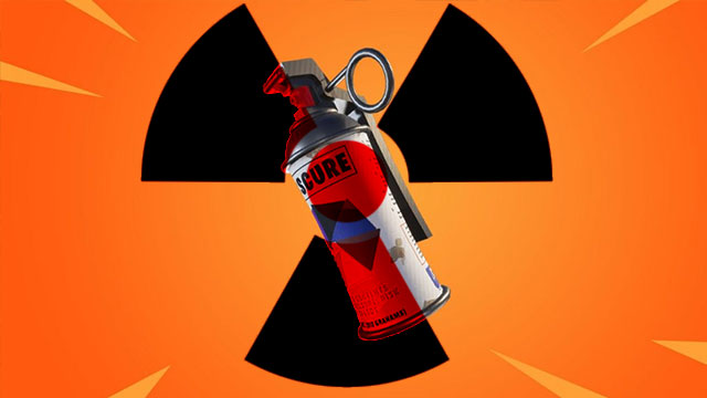 Fortnite Radioactive Smoke Grenade leak