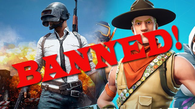 Fortnite and PUBG have been banned in Iraq