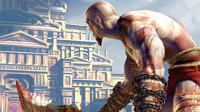 God of War for PS2,directed by Jaffe