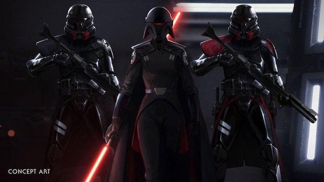 Star Wars Jedi Fallen Order Characters purge troopers