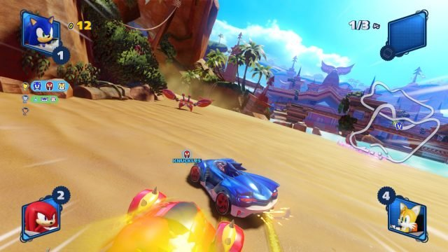 team sonic racing tracks