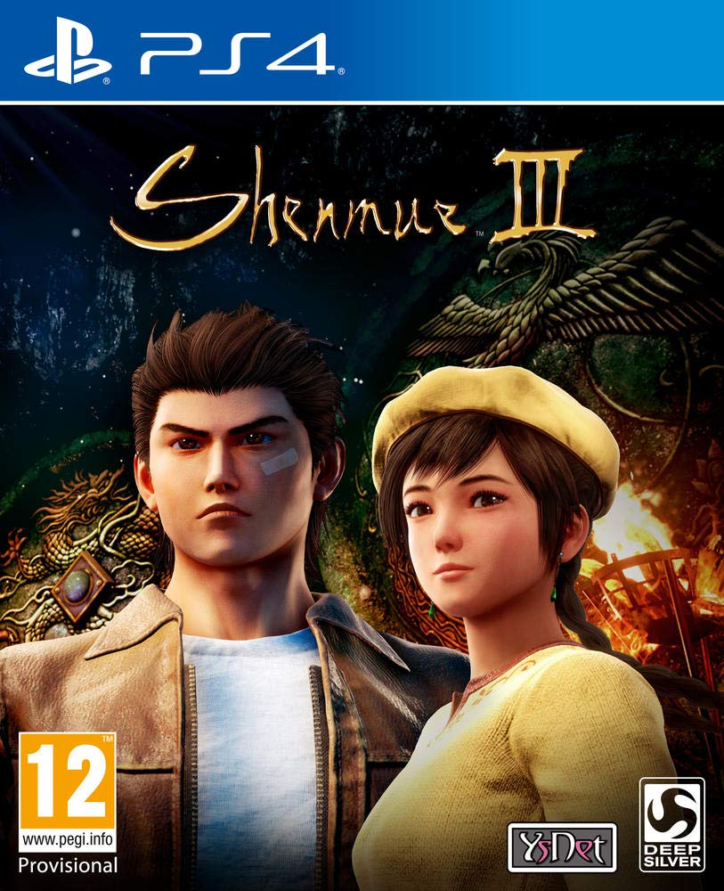 Box art - Shenmue 3