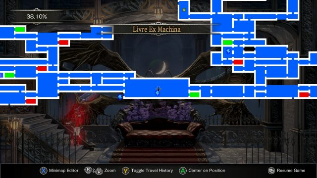 Bloodstained Ritual of the Night Iron Maiden Location