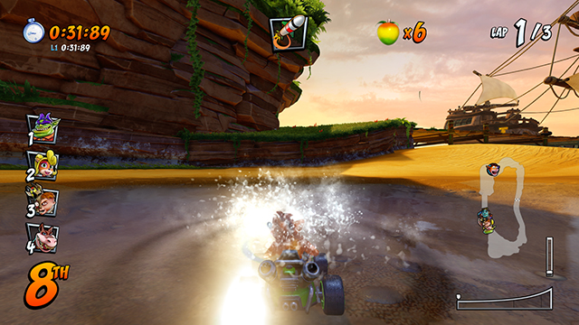 CTR Challenge Crash Cove | CTR Tokens location crash team racing nitro-fueled