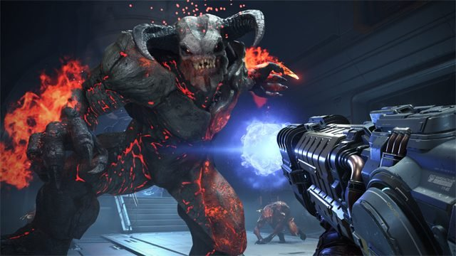 Google Stadia Games Doom