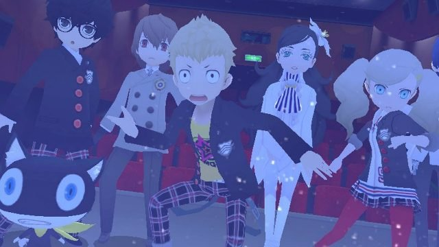 Persona Q2 review p5 cast