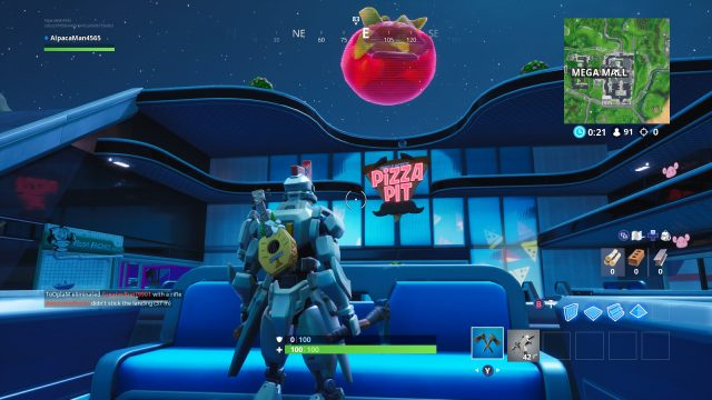 Fortnite Fortbyte 59 location
