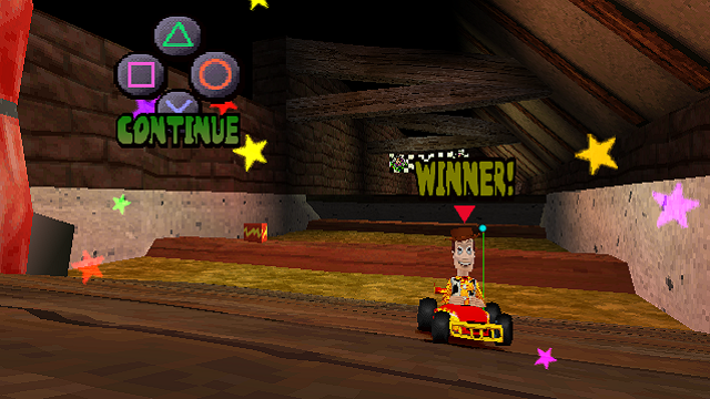 Toy Story Racer Woody Header