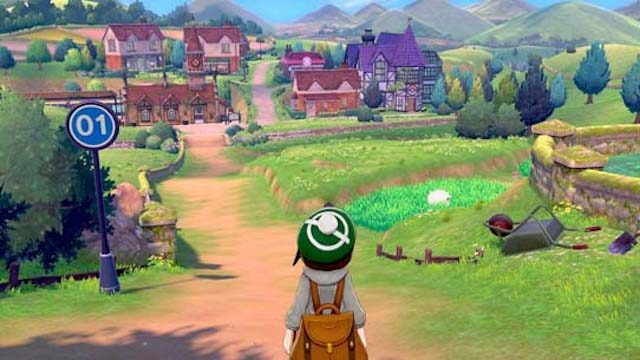 pokemon sword and shield features