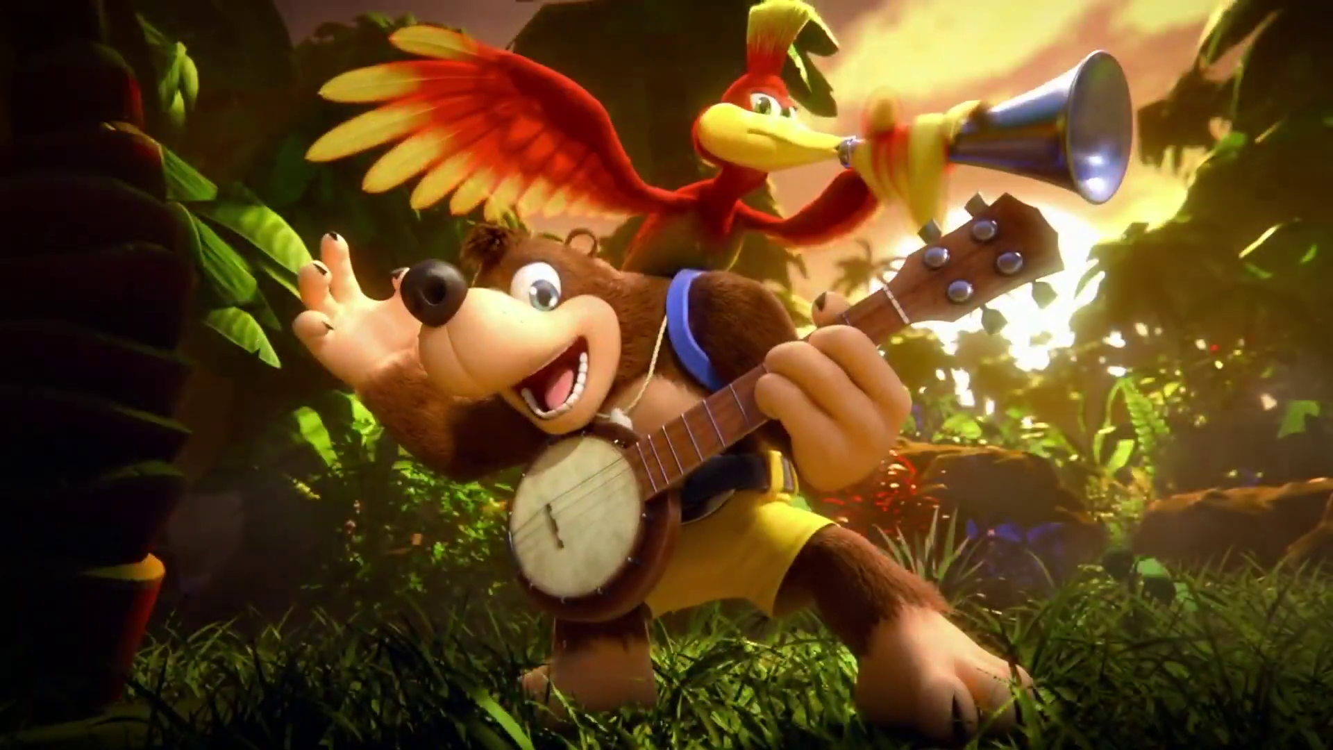 Banjo Kazooie Switch