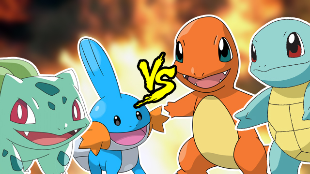 The Daily Vote   What is the best starter Pokemon EVER