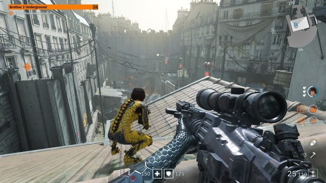 Wolfenstein Youngblood stealth rooftop