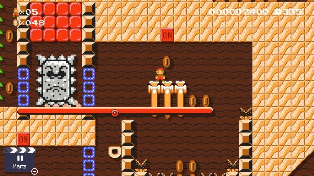 Super Mario Maker 2 Ancient Seesaw Fortress