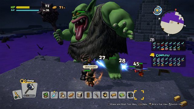 Dragon Quest Builders 2 Super Strong Enemy