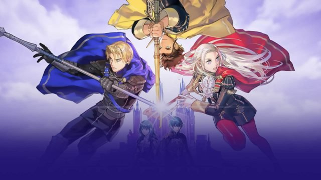 Fire Emblem Three Houses house choice Golden Deer Blue Lions Black Eagles
