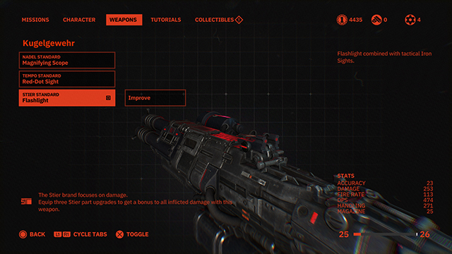 Wolfenstein Youngblood Flashlight | Can you add it to your gun?