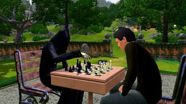 how to kill a sim in The Sims 4