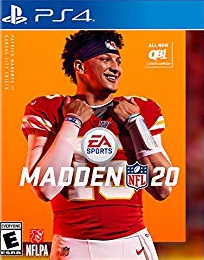 Box art - Madden NFL 20