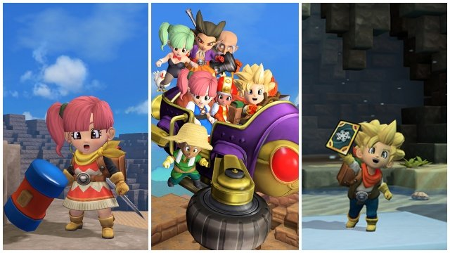 Dragon Quest Builders 2 Final Free Update Epilogue New Hairstyles Weather Cards