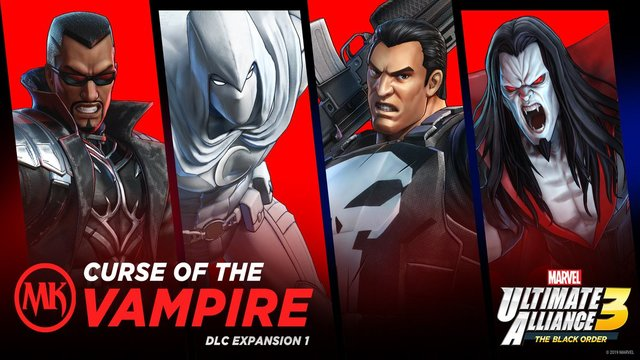 Marvel Ultimate Alliance 3 DLC release date