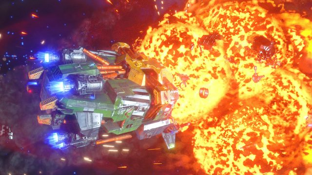 Rebel Galaxy Outlaw Explosions