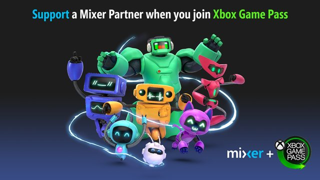 Xbox Game Pass Mixer