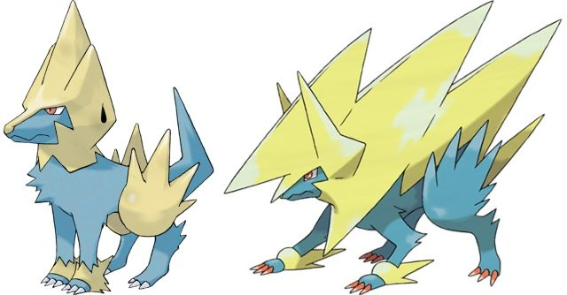 best video game dogs manectric