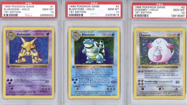 Pokemon Trading Card Game set sells for for over $100,000 at auction